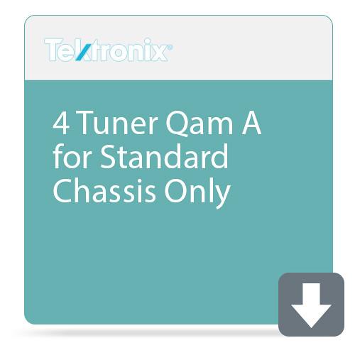 Tektronix 4 Tuner Qam A for Standard Chassis Only