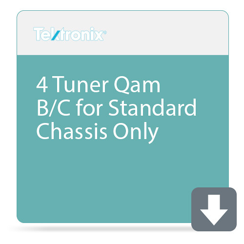 Tektronix 4 Tuner Qam B/C for Standard Chassis Only