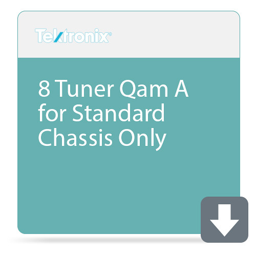 Tektronix 8 Tuner Qam A for Standard Chassis Only