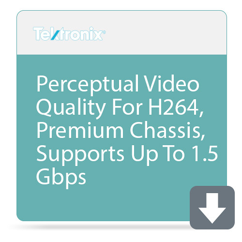 Tektronix Perceptual Video Quality For H264, Premium Chassis, Supports Up To 1.5 Gbps
