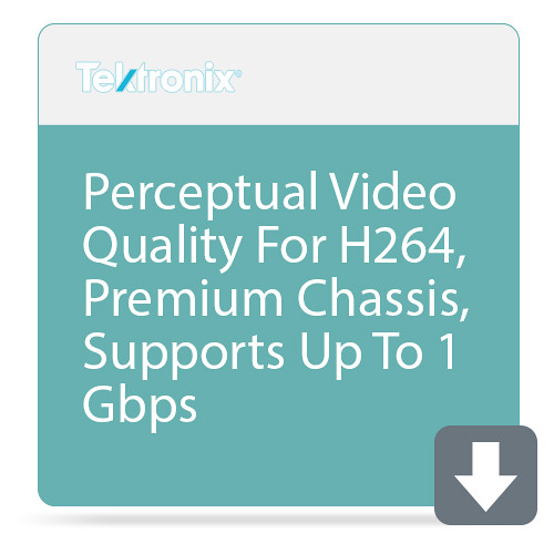 Tektronix Perceptual Video Quality For H265, Premium Chassis, Supports Up To 1 Gbps