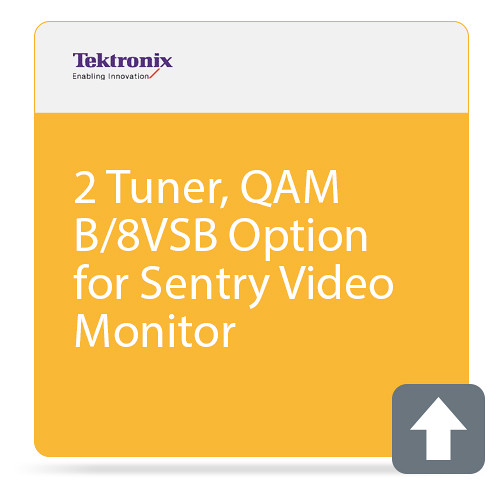 Tektronix 2 Tuner, QAM B/8VSB Option for Sentry Video Monitor