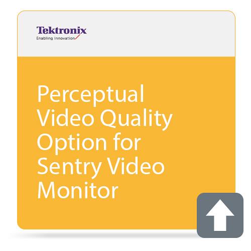 Tektronix Perceptual Video Quality Option for Sentry Video Monitor