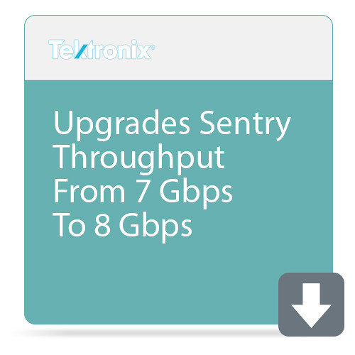 Tektronix Upgrades Sentry Throughput From 7 Gbps To 8 Gbps