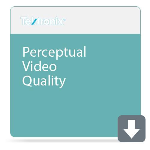 Tektronix Perceptual Video Quality (For Xg Input And Throughputs Greater Than 2 Gb/S To 4 Gb/S)