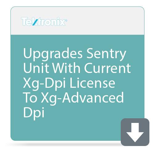 Tektronix Upgrades Sentry Unit With Current Xg-Dpi License To Xg-Advanced Dpi