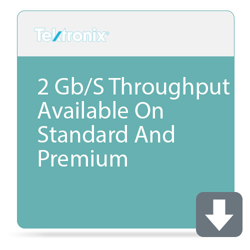 Tektronix 2 Gb/S Throughput Available On Standard And Premium