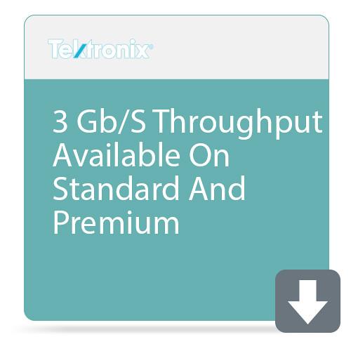 Tektronix 3 Gb/S Throughput Available On Standard And Premium