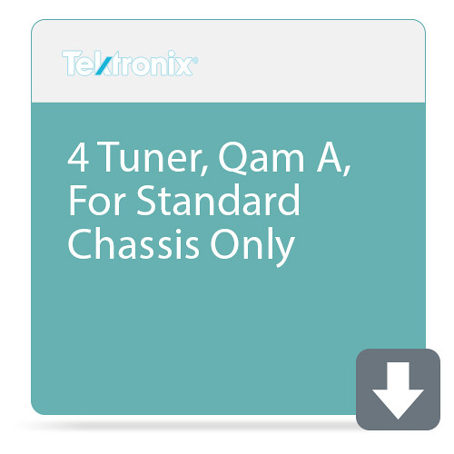 Tektronix 4 Tuner, Qam A, For Standard Chassis Only