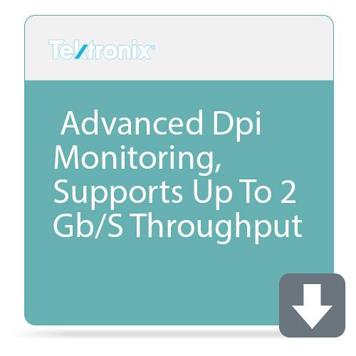 Tektronix Advanced Dpi Monitoring, Supports Up To 2 Gb/S Throughput
