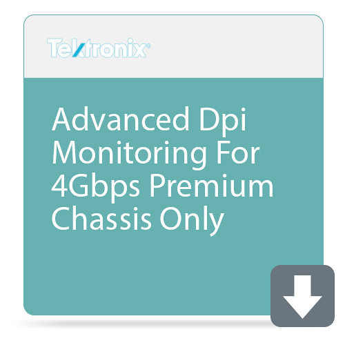 Tektronix Advanced Dpi Monitoring For 4Gbps Prem Chassis Only