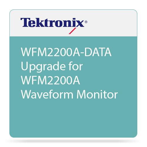 Tektronix WFM2200A-DATA Upgrade for WFM2200A Waveform Monitor