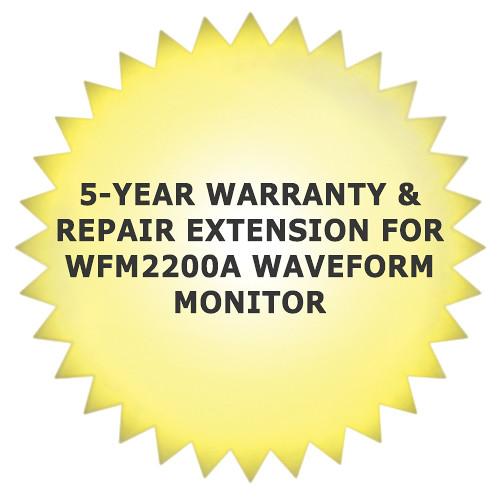 Tektronix 5-Year Warranty & Repair Extension for WFM2200A Waveform Monitor