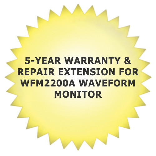 Tektronix 5-Year Warranty & Repair Extension for WFM2200A Waveform Monitor