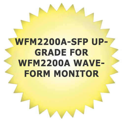 Tektronix WFM2200A-SFP Upgrade for WFM2200A Waveform Monitor