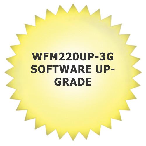 Tektronix WFM220UP-3G Software Upgrade for WFM2200 Waveform Monitor & Generator