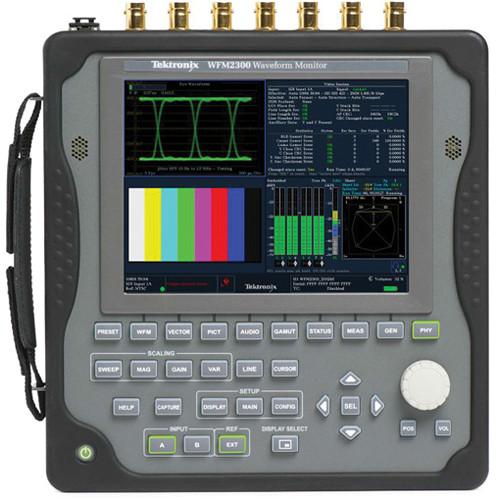 Tektronix WFM2300 Multi-Format Multi-Standard Portable Waveform Monitor
