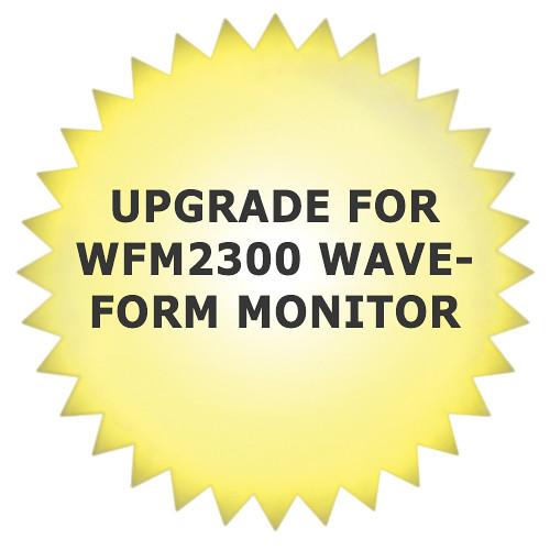 Tektronix WFM2300DBE Dolby E Analysis Software Upgrade for WFM2300 Waveform Monitor