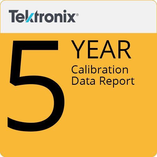 Tektronix Calibration Data Report (5-Year)