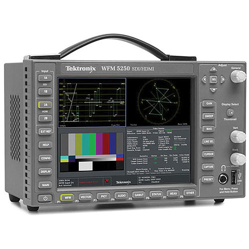 Tektronix WFM5250 SDI/HDMI Waveform Monitor