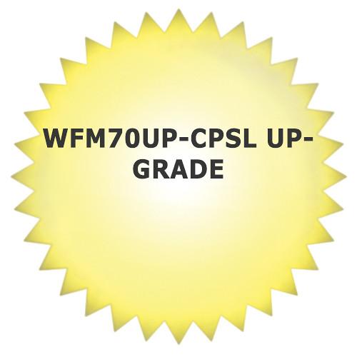 Tektronix WFM70UP-CPSL Upgrade for WFM7000 Waveform Monitor