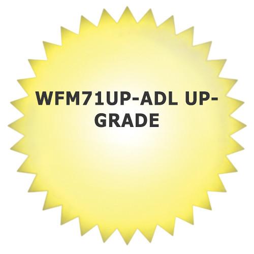 Tektronix WFM71UP-ADL Upgrade for WFM7100 Waveform Monitor