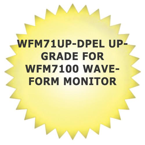 Tektronix WFM71UP-DPEL Upgrade for WFM7100 Waveform Monitor