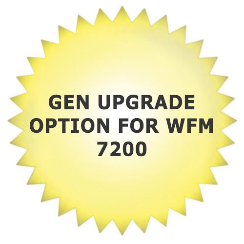 Tektronix GEN Upgrade Option for WFM 7200