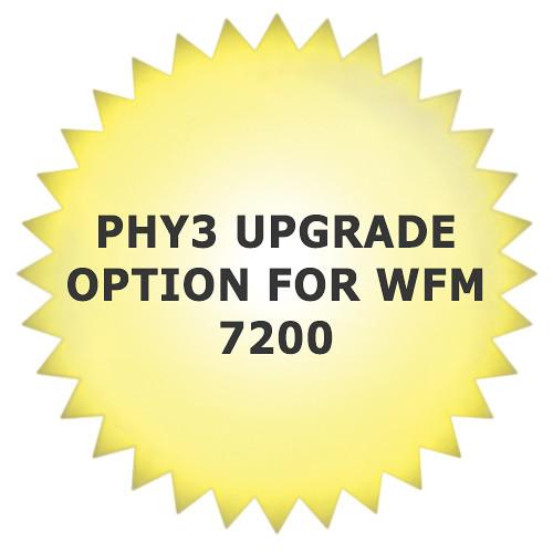 Tektronix PHY3 Upgrade Option for WFM 7200