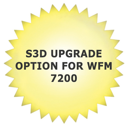 Tektronix S3D Upgrade Option for WFM 7200