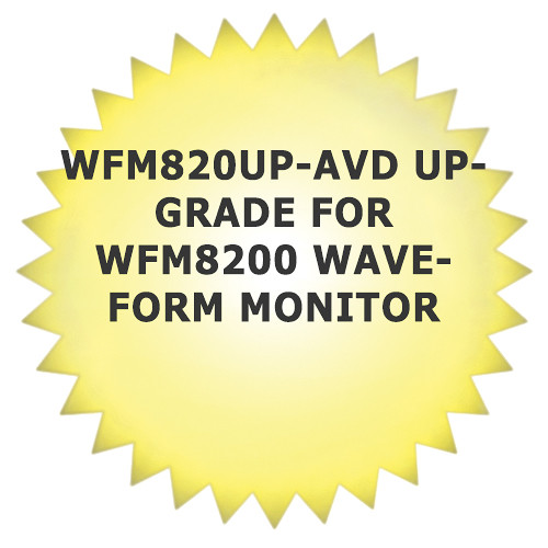 Tektronix WFM820UP-AVD Upgrade for WFM8200 Waveform Monitor