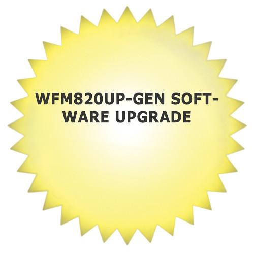 Tektronix WFM820UP-GEN Software Upgrade for WFM8200 Waveform Monitor