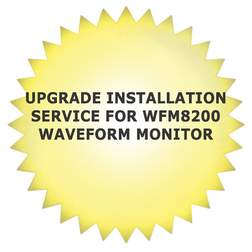 Tektronix Upgrade Installation Service for WFM8200 Waveform Monitor