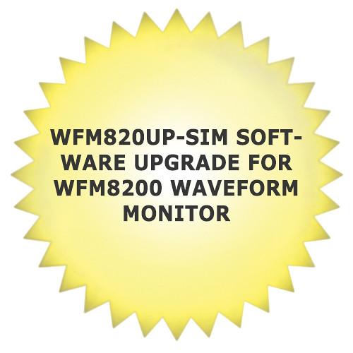 Tektronix WFM820UP-SIM Software Upgrade for WFM8200 Waveform Monitor