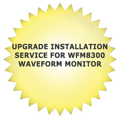 Tektronix Upgrade Installation Service for WFM8300 Waveform Monitor
