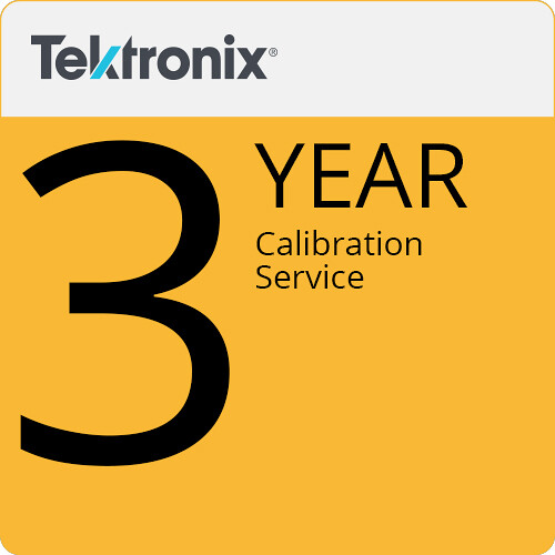 Tektronix 3-Year Calibration Service
