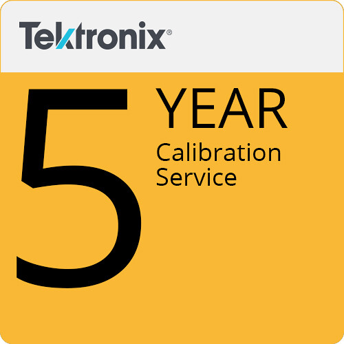 Tektronix 5-Year Calibration Service