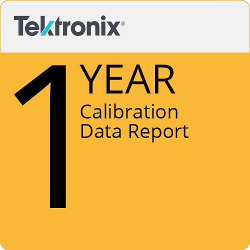 Tektronix 1-Year Calibration Data Report