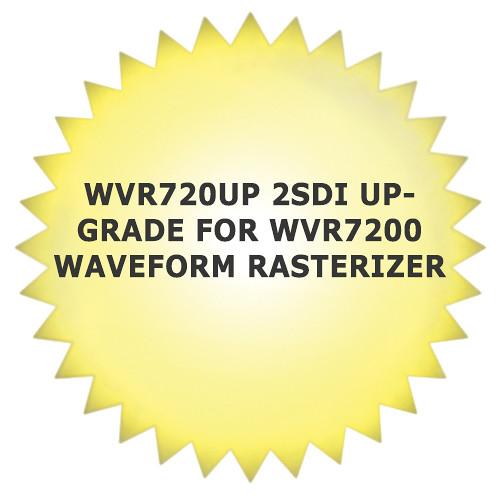 Tektronix WVR720UP 2SDI Upgrade for WVR7200 Waveform Rasterizer