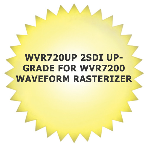 Tektronix WVR720UP 2SDI Upgrade for WVR7200 Waveform Rasterizer