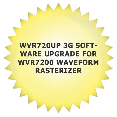 Tektronix WVR720UP 3G Software Upgrade for WVR7200 Waveform Rasterizer