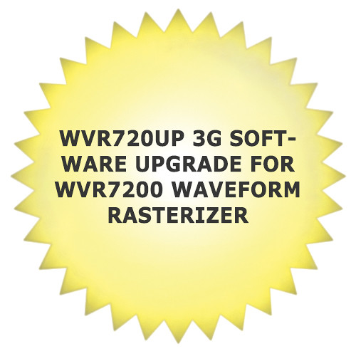 Tektronix WVR720UP 3G Software Upgrade for WVR7200 Waveform Rasterizer