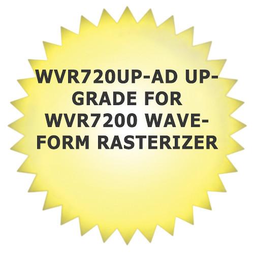 Tektronix WVR720UP-AD Upgrade for WVR7200 Waveform Rasterizer