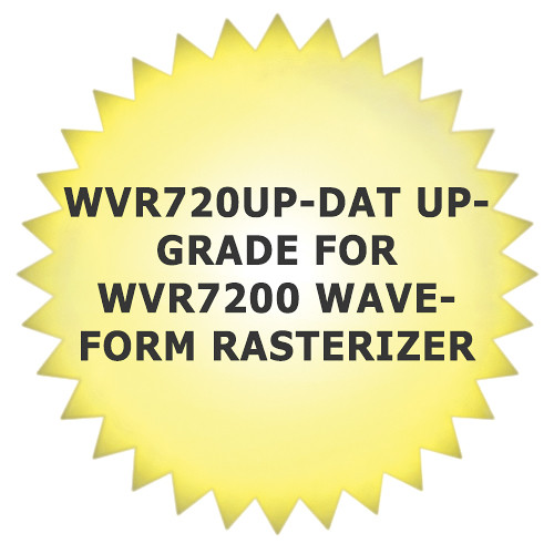 Tektronix WVR720UP-DAT Upgrade for WVR7200 Waveform Rasterizer