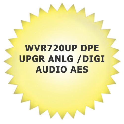 Tektronix WVR720UPDPE Software Upgrade for WVR7200 Waveform Rasterizer