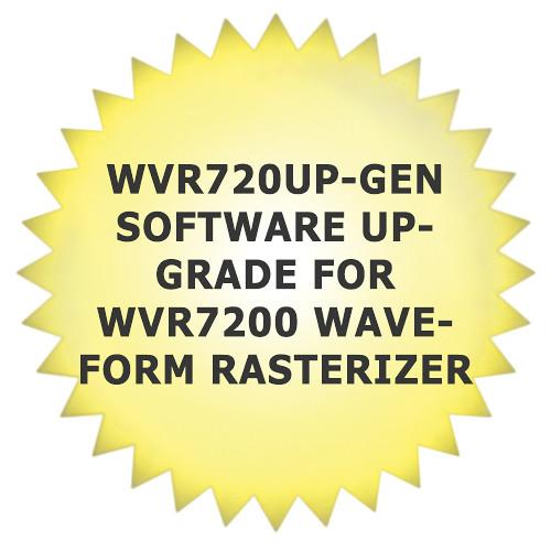 Tektronix WVR720UP-GEN Software Upgrade for WVR7200 Waveform Rasterizer