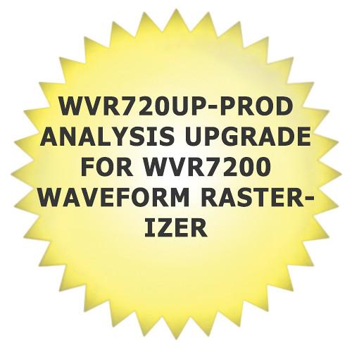Tektronix WVR720UP-PROD Analysis Upgrade for WVR7200 Waveform Rasterizer