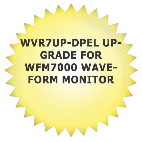 Tektronix WVR7UP-DPEL Upgrade for WVR7100 Waveform Monitor