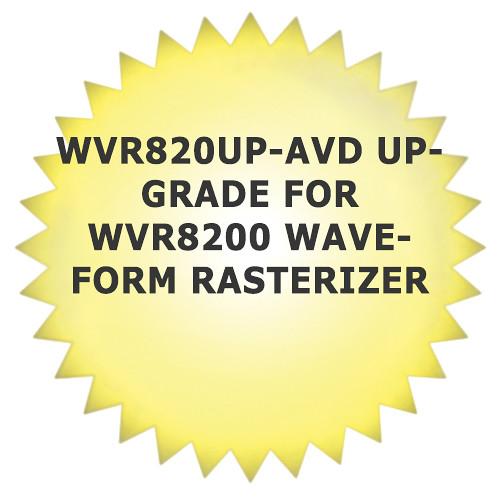 Tektronix WVR820UP-AVD Upgrade for WVR8200 Waveform Rasterizer