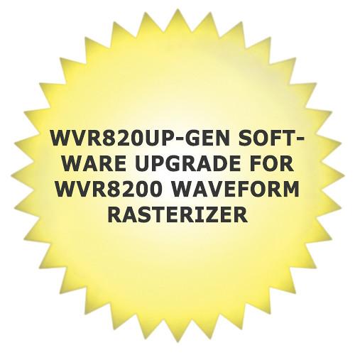 Tektronix WVR820UP-GEN Software Upgrade for WVR8200 Waveform Rasterizer